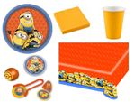 Minions - Party Set Kindergeburtstag + Fun Set