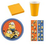 Minions Party Set Kindergeburtstag 8 Kinder