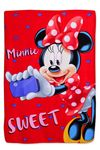 Disney - Kinderdecke MINNIE 100x140 cm rot