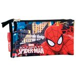 Marvel Spiderman - Schlamper mit 3 Fächern