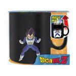 Dragon Ball Z - Wärme ändern DBZ Vegeta Heat Becher Tasse 460ml