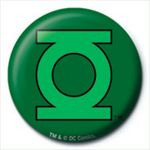 DC Comics (Grünes Laternen Logo) - Ansteck Button