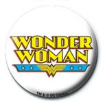 DC Comics (Wonder Woman Logo) - Ansteck Button