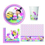 Fluffy Minions Party Set 37-teilig Kinder Geburtstag