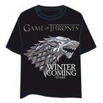 "Game of Thrones - Tshirt, ""Logo"" Haus Stark Gr.S"