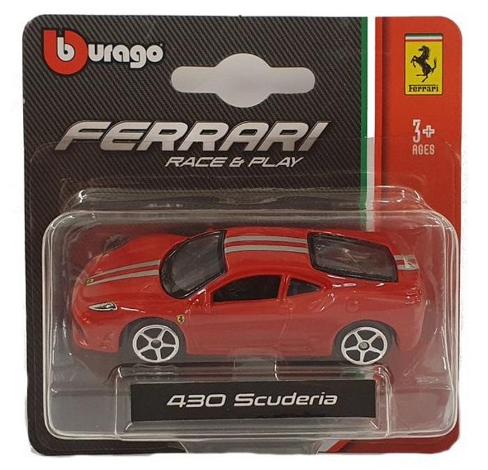 Bburago Ferrari Race Play Modellauto 430 Scuderia 1 64 Spielzeugauto Ebay