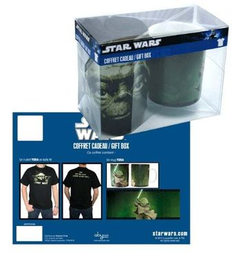 STAR WARS -  Gift Box - Yoda - T-Shirt und Tasse