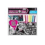 Monster High - Samt-Stiftemäppchen