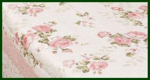 Tagesdecke ROSE Quilt Romantik rosa weiß 180*260 – Bild 2
