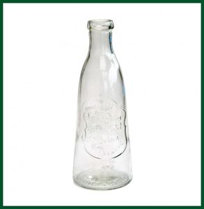 Retro Flasche Ice Cold Drink Dekoflasche massiv