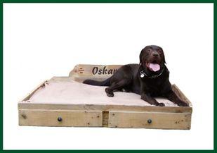 Einführungspreis: My Country Dog Hundebett Palettenbett f. Hunde XL