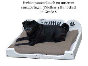 SOFTSHELL COMFORT Hundekissen PETFAB Füllung 65 x 50 x 9 cm anthrazit – Bild 2