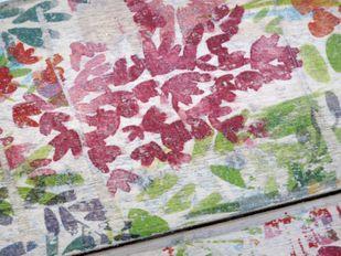 Garderobe Hakenleiste Vintage Flowers Handarbeit Unikat – Bild 4