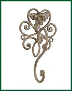 Wandhaken Handtuchhalter Vintage Rosenblüte – Bild 1