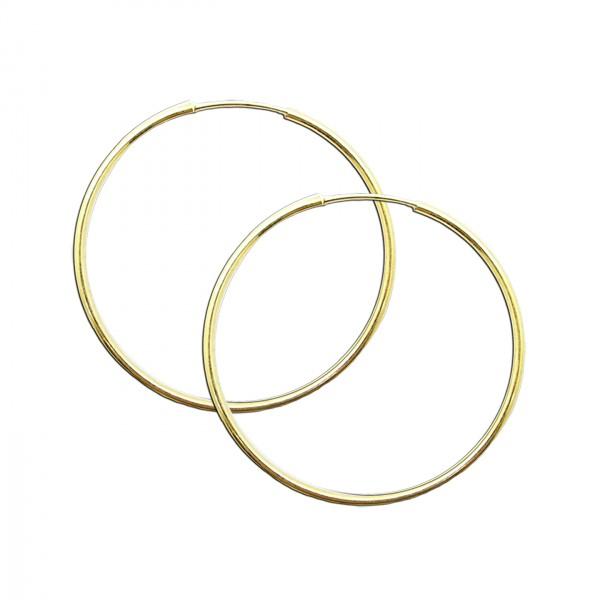 gold creolen 925 sterling silber 24 karat vergoldet. Black Bedroom Furniture Sets. Home Design Ideas