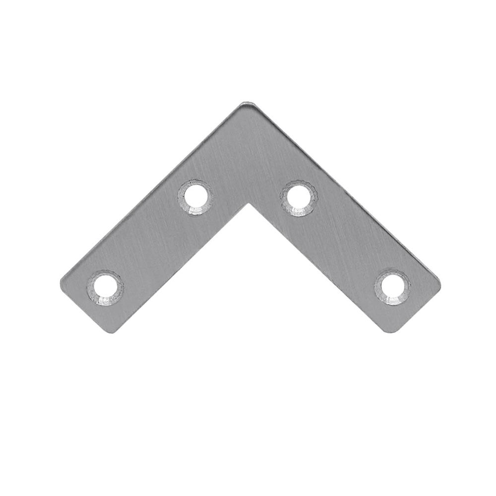 acier connecteur meubles d 39 angle renfort l plaque perfor e. Black Bedroom Furniture Sets. Home Design Ideas