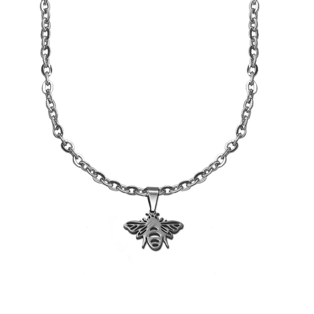 Anhaenger-Kette-Halskette-Damen-Kinder-Herz-Anker-Kreuz-Blume-Kettenanhaenger