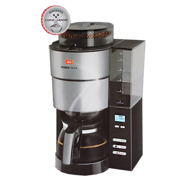 melitta aroma fresh kaffee maschine automat mahlwerk timer 1021 01 1x4 filter ebay. Black Bedroom Furniture Sets. Home Design Ideas