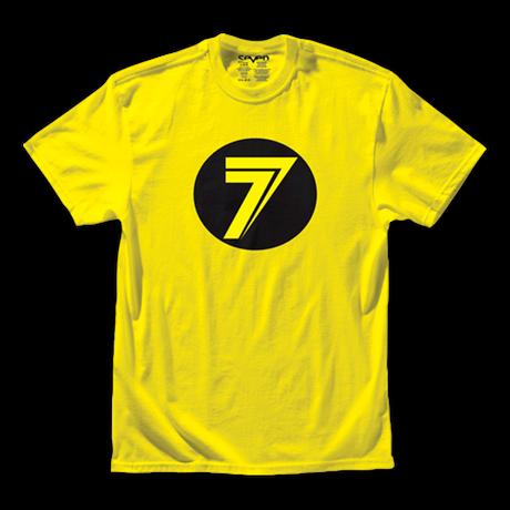 Seven Dot Tee Yellow 001