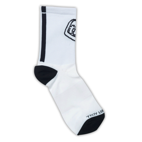 Ace Performance Crew Socks White 2 Pack 001