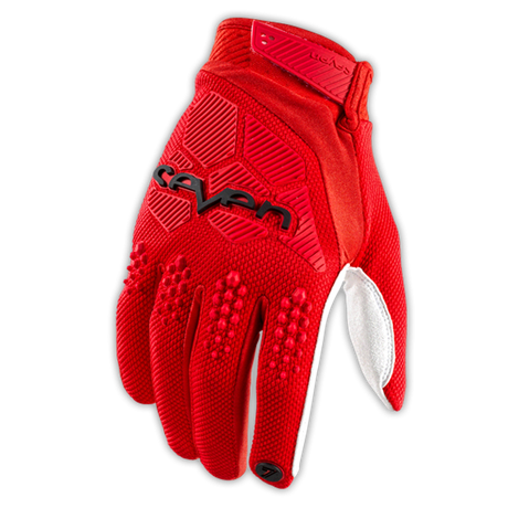 Seven Rival Glove Red 001