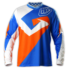 GP Air Jersey Verse Blue/Orange  002