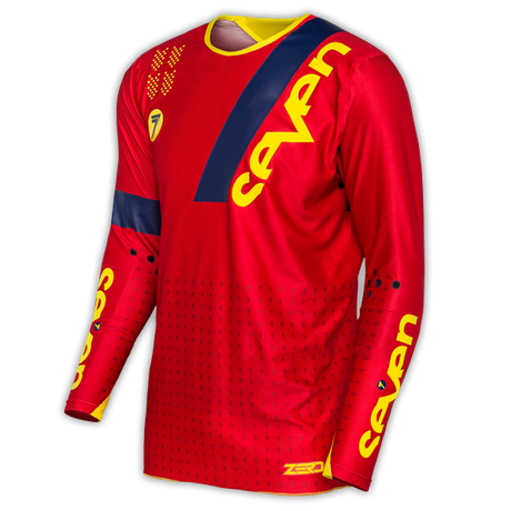 Seven Zero Jersey League Red 001