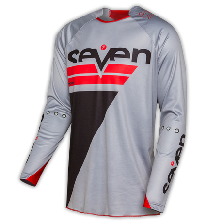 Seven Rival Jersey Rize Gray/Red 001