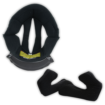 D2 Headliner + Cheekpads SET Black 001