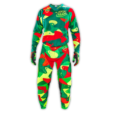 SE Air Pant Cosmic Camo Green/Flo Yellow 005