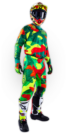SE Air Set Cosmic Camo Green/Flo Yellow 001