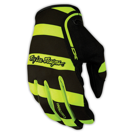 XC Glove Caution Flo Yellow/Black 001