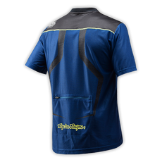 Skyline Race Jersey Dirty Blue 003