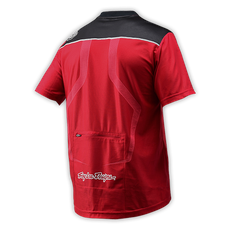 Skyline Race Jersey Deep Red 003