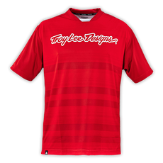 Skyline Jersey Divided Fire Red 002