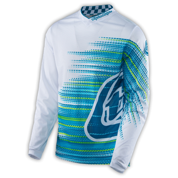 GP AIR JERSEY ELECTRO WHITE 001