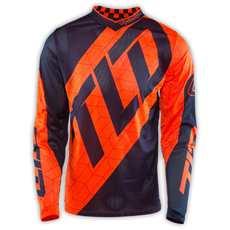 GP AIR JERSEY QUEST FLO ORANGE/NAVY 002