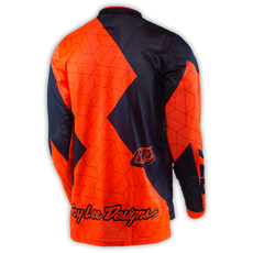 GP AIR JERSEY QUEST FLO ORANGE/NAVY 003