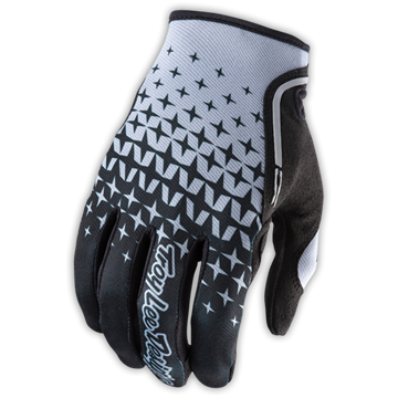 XC GLOVE STARBURST BLACK/GRAY 001
