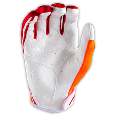 XC GLOVE STARBURST RED/ORANGE 002