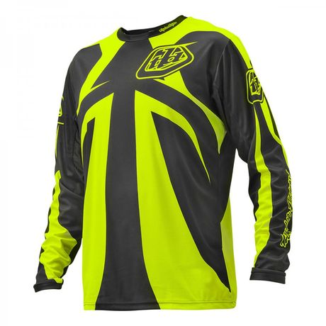 SPRINT JERSEY REFLEX DARK GRAY/FLO YELLOW  001