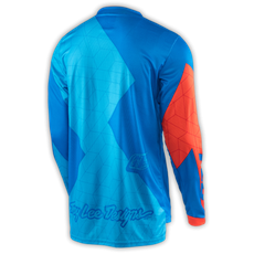 GP JERSEY QUEST CYAN/ORANGE 003