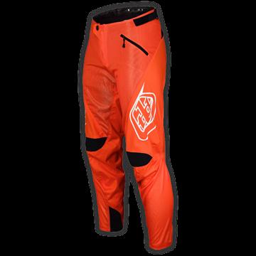 Sprint Pant Solid Orange 001