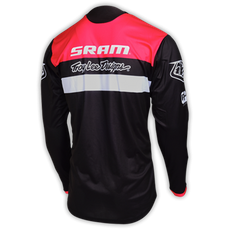 Kinder / Youth Sprint Jersey SRAM TLD RACING Black 002