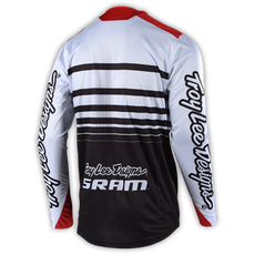 SPRINT JERSEY SRAM WHITE/BLACK 002