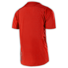 SKYLINE S/S JERSEY HEATHER RED 002