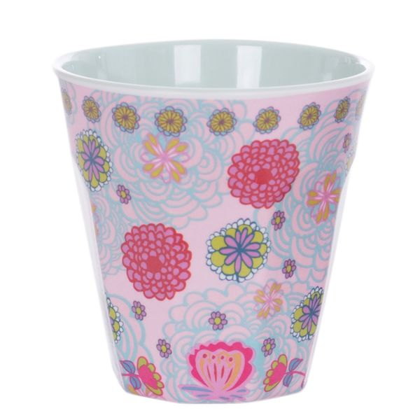 Overbeck and Friends Melamin Becher Lilly-Rose1