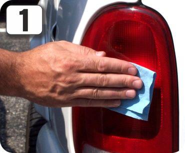 ATG102 Scheinwerfer Reparaturset, ORANGE: Passend für Rückleuchten an Auto, Motorrad oder Wohnwagen. Notfallhilfe für unterwegs – Bild 3