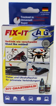 ATG FIX-IT Super glue - Glued like welded! - Display POS for retailers - for adhering and welding - the newest developments in adhesive technology - DIY Smart Repair - 8 – Bild 4