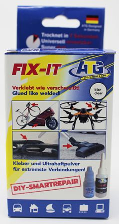 ATG FIX-IT Super glue - Glued like welded! - Display POS for retailers - for adhering and welding - the newest developments in adhesive technology - DIY Smart Repair - 8 – Bild 6
